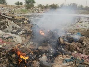 مرکز پسماند شماره یک اهواز همچنان درگیر مشکلات زیست محیطی