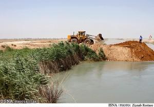 استفاده از زهاب نیشکر برای کشاورزی در خوزستان اجرایی شد
