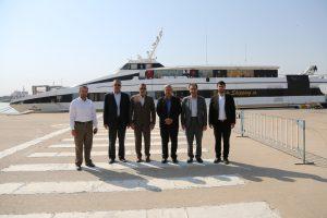 راه اندازی مجدد خط کشتیرانی خرمشهر به بصره