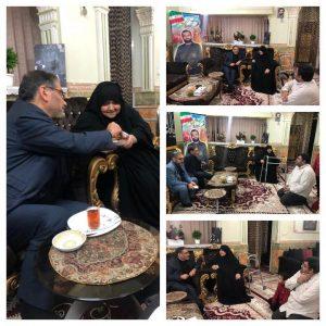 🔴 *دبیر شورای عالی امنیت ملی با خانواده شهید سرلشکر علی هاشمی دیدار کرد*