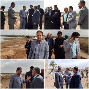 بازدید مدیر کل امور روستایی از پروژههای عمرانی بخش شاوور