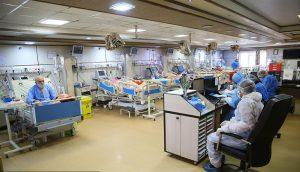بستری ۳۹۰۰ بیمار مبتلا به کرونا در بیمارستانهای تهران