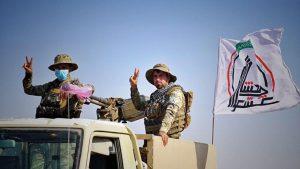 نیروهای حشد الشعبی عراق: باید نظامیان اشغالگر آمریکایی از عراق خارج شوند.