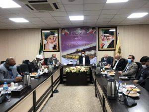 رئیس مجمع نمایندگان خوزستان: احداث خط ریلی اهواز – اصفهان مطالبه جدی نمایندگان است