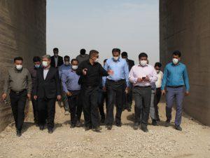 آب ۱۳ روستای مسیر لامی از خط غدیر تامین می شود